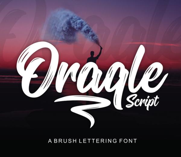 Oraqle Script Free Font