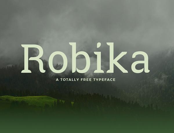 Robika Free Font