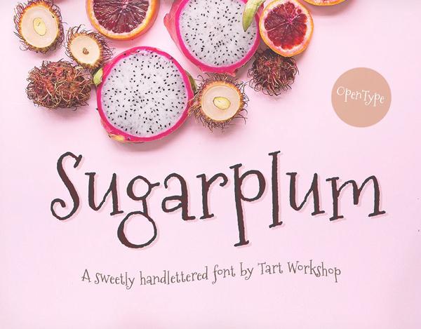 Sugarplum Free Font