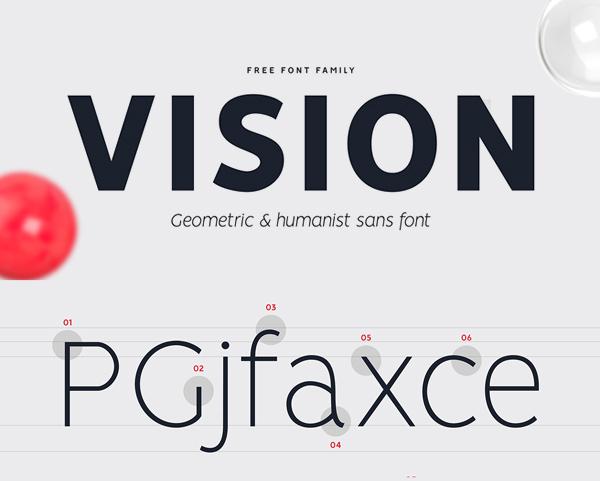 VISION Free Font