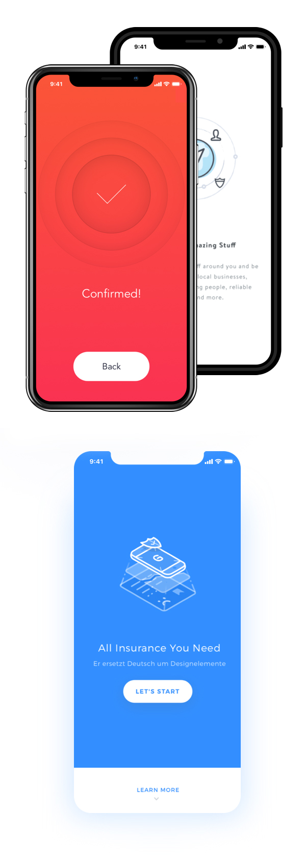 Free Download iPhone X PSD Mockups and Sketch - 18