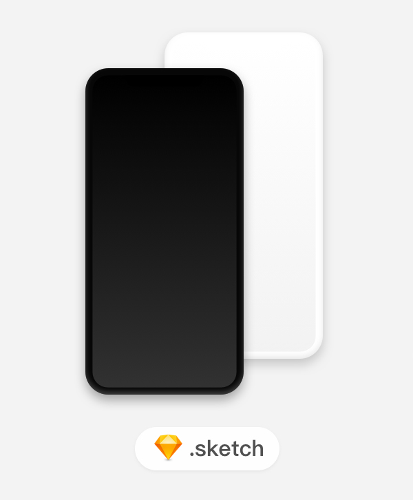 Free Download iPhone X PSD Mockups and Sketch - 22
