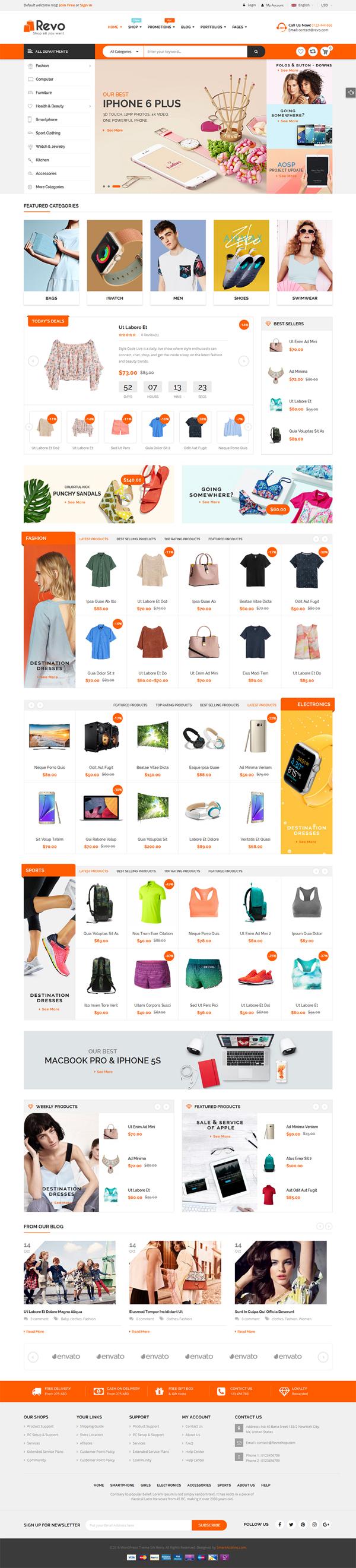 Revo - Multi-purpose WooCommerce WordPress Theme