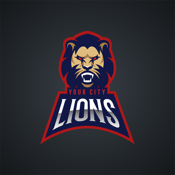 Free Agressive Animals Sports Logo Vectors