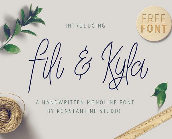 Fili & Kyla Free Font