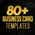 Post thumbnail of 80+ Best of 2017 Business Card Designs