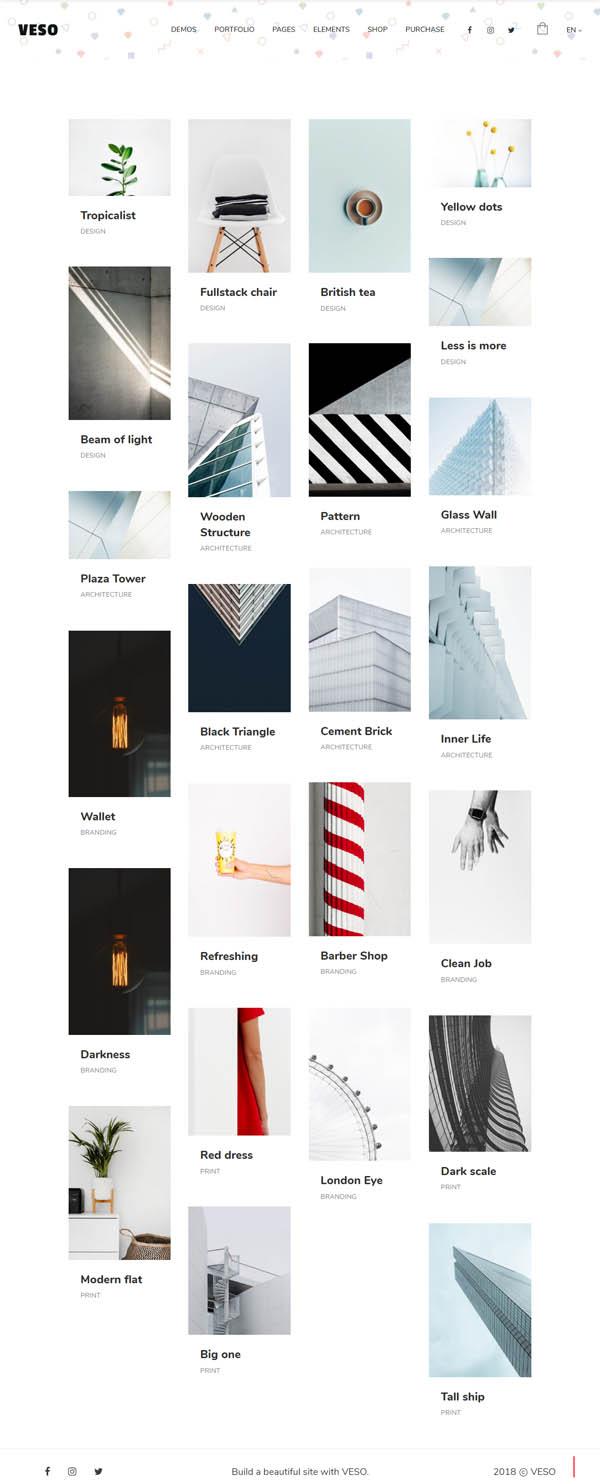 Veso - Multipurpose Portfolio Theme