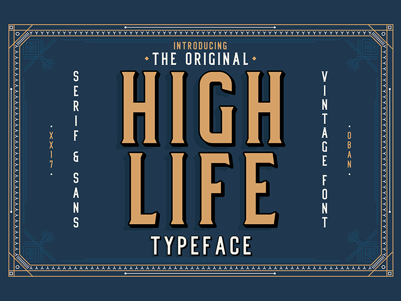 100 Greatest Free Fonts for 2018 - 1