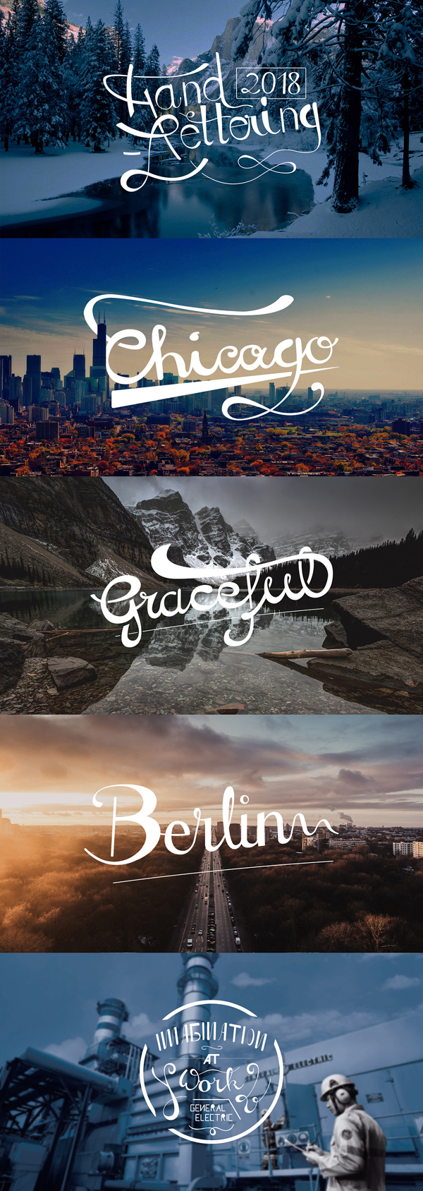 Remarkable Lettering and Typography Designs Of 2018 for Inspiration - 29