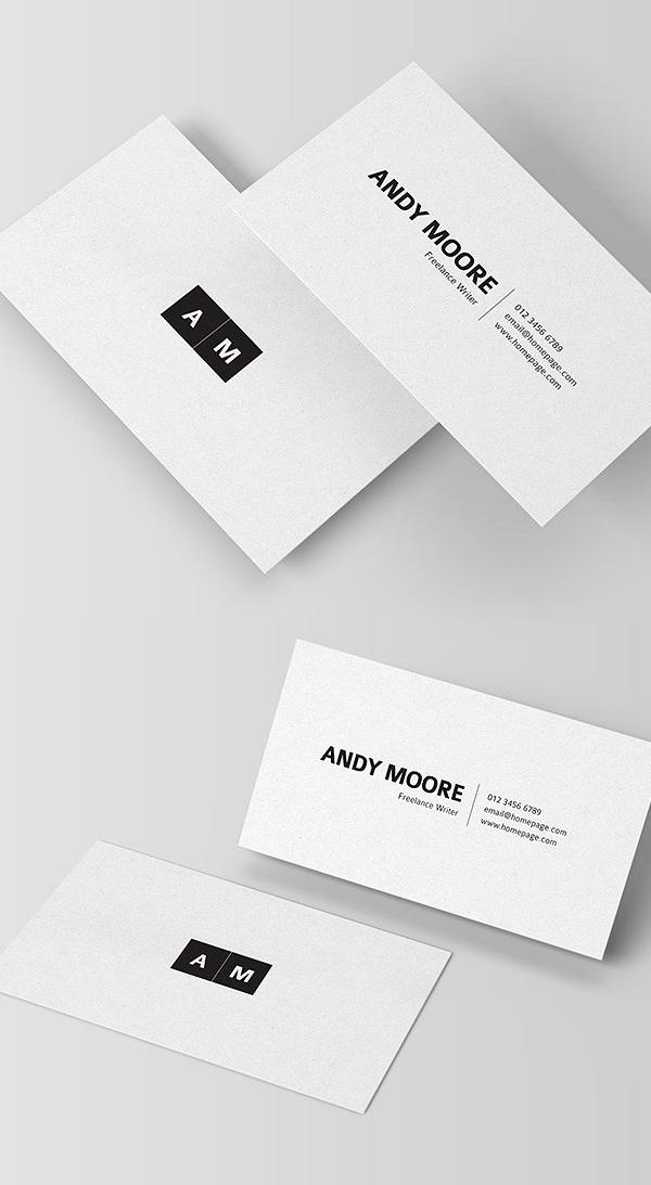 Freelancer Minimal Business Card