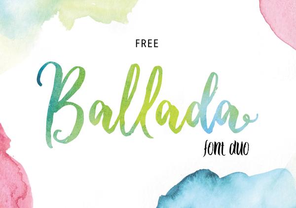 Ballada Free Font