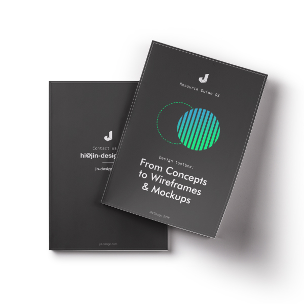 Ebook : From Concepts to Wireframes & Mockups