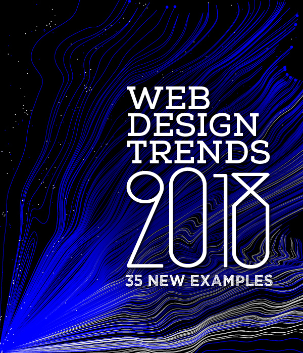 Web Design Trends 2018 – 35 New Examples