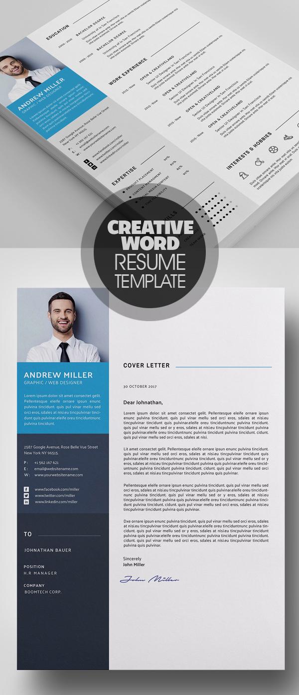 Word CV Resume Template