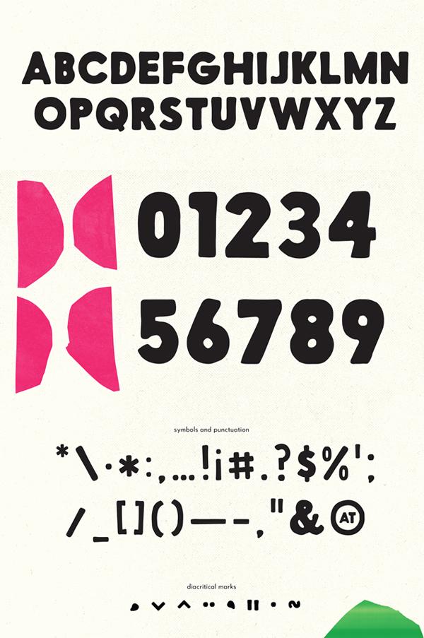 57-FUTURA font letters