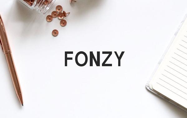 Fonzy Sans Serif Free Font