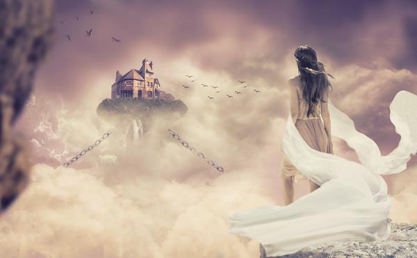 Girl Fantasy Manipulation - Photoshop Tutorial