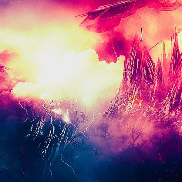Create Sci-Fi Landscape Photo Manipulation in Photoshop