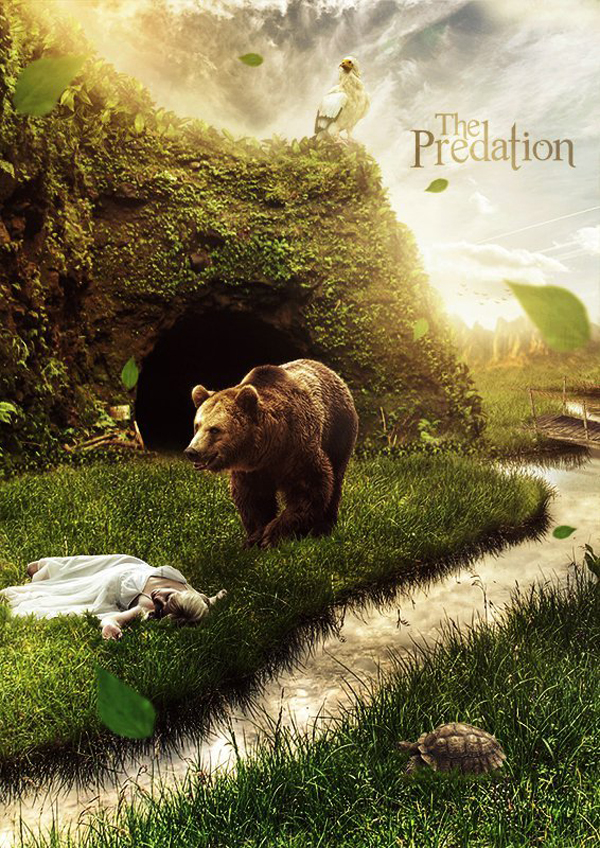 Create a Hungry Bear Composite in Photoshop