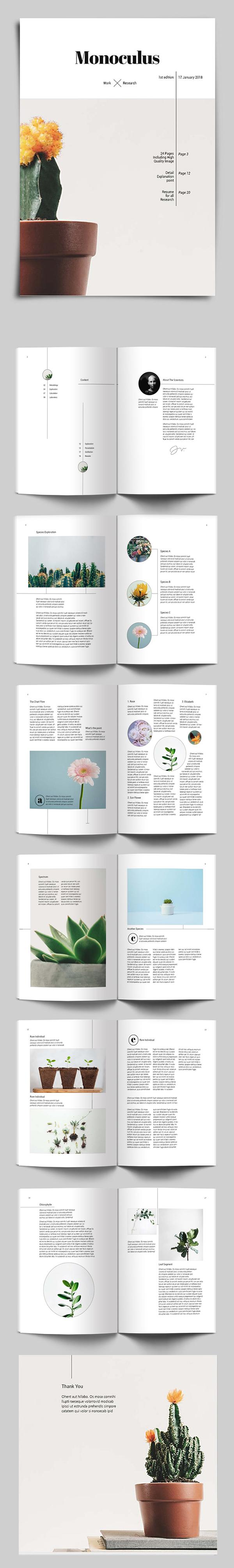 100 Professional Corporate Brochure Templates - 42