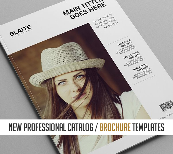 20 New Professional Catalog Brochure Templates