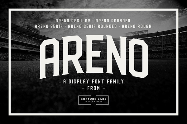 Areno Free Font