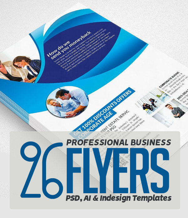 Flyer Templates: Clean & Professional Business Flyer Templates