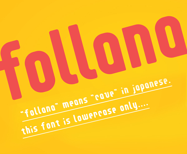 Follana Free Font