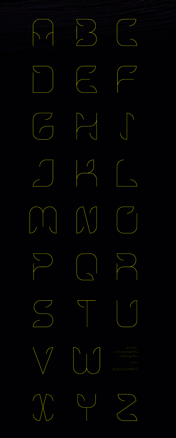 Hooky Free Font Letters and Numbers