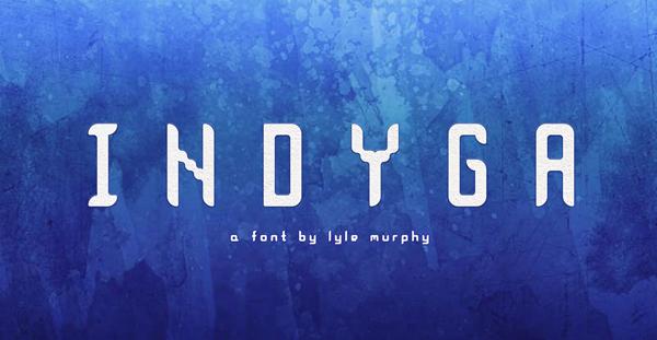 Indyga Free Font