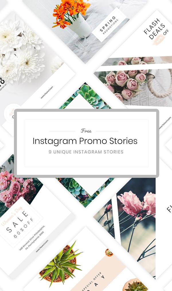 Freebie: Instagram Stories Templates