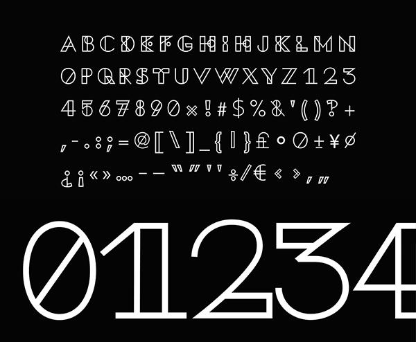 K95 Alphabet Free Font Letters
