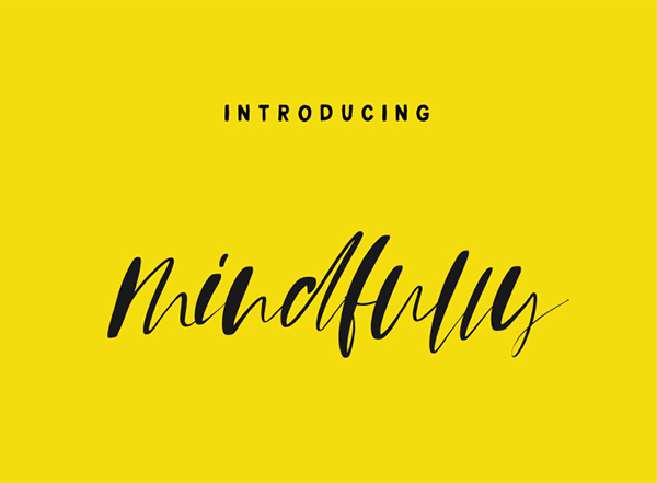 Mindfully Free Font