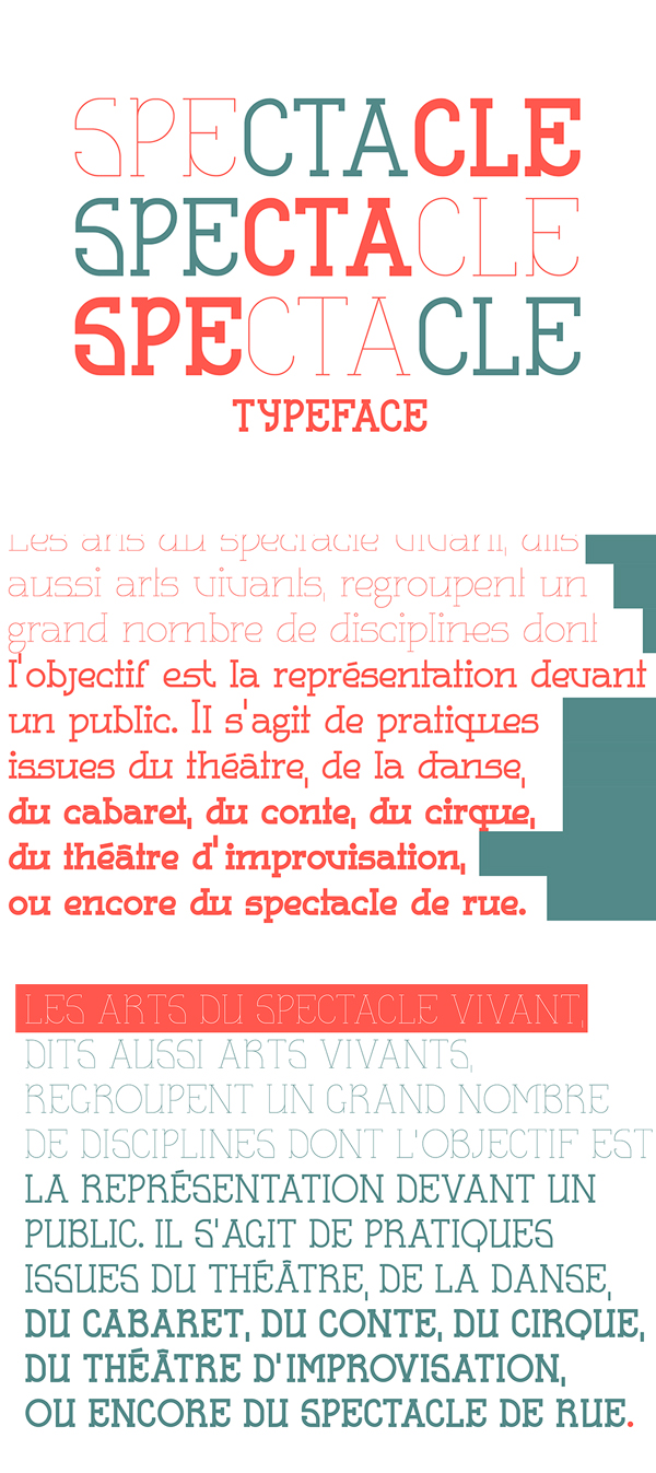Spectacle Free Font