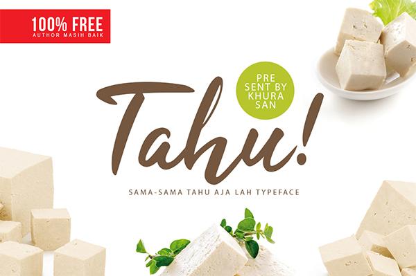 Tahu! Free Font