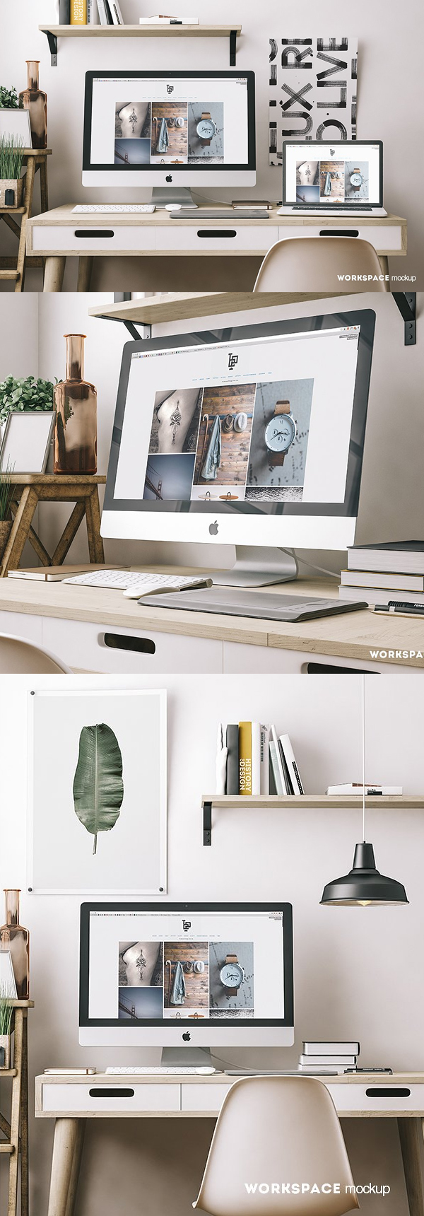 Amazing Workspace Mockup Set
