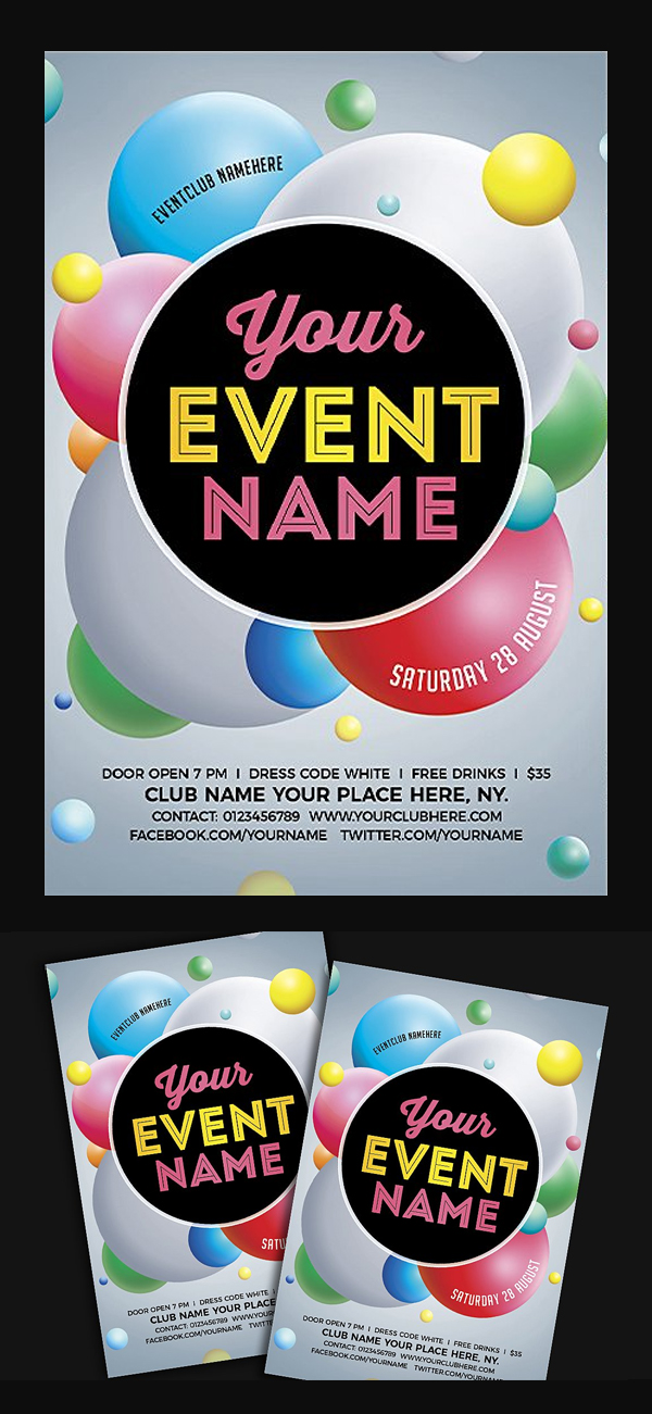 Event Party Flyer