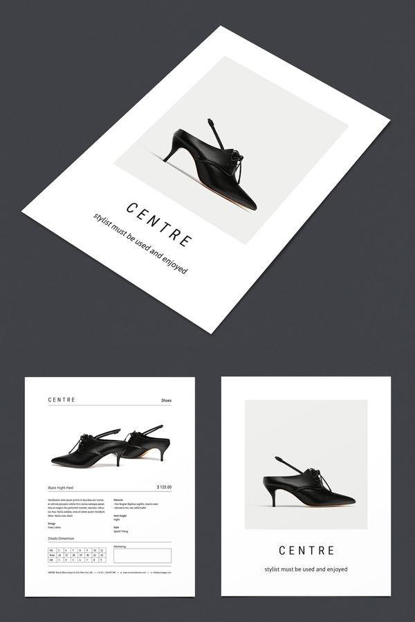 C E N T R E — Fashion Flyer