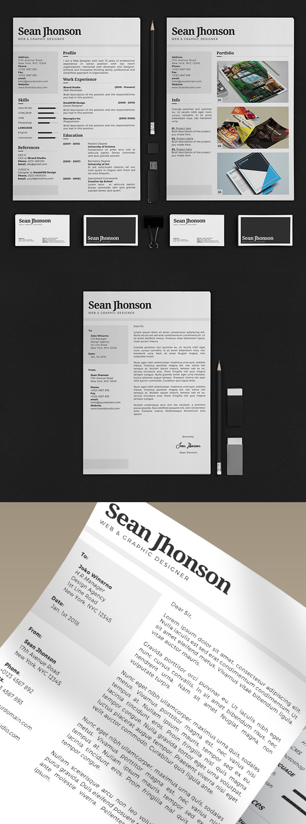 50 Free Resume Templates: Best Of 2018 -  25