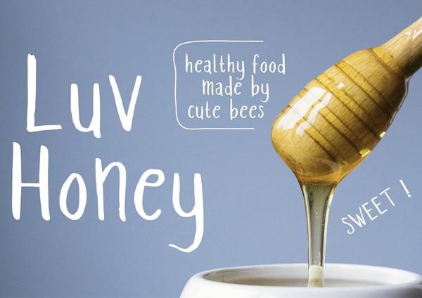 Luv Honey Font