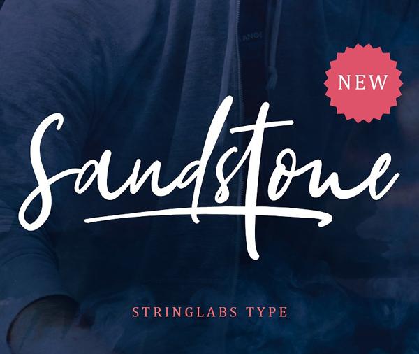 Sandstone - Handwritten Script