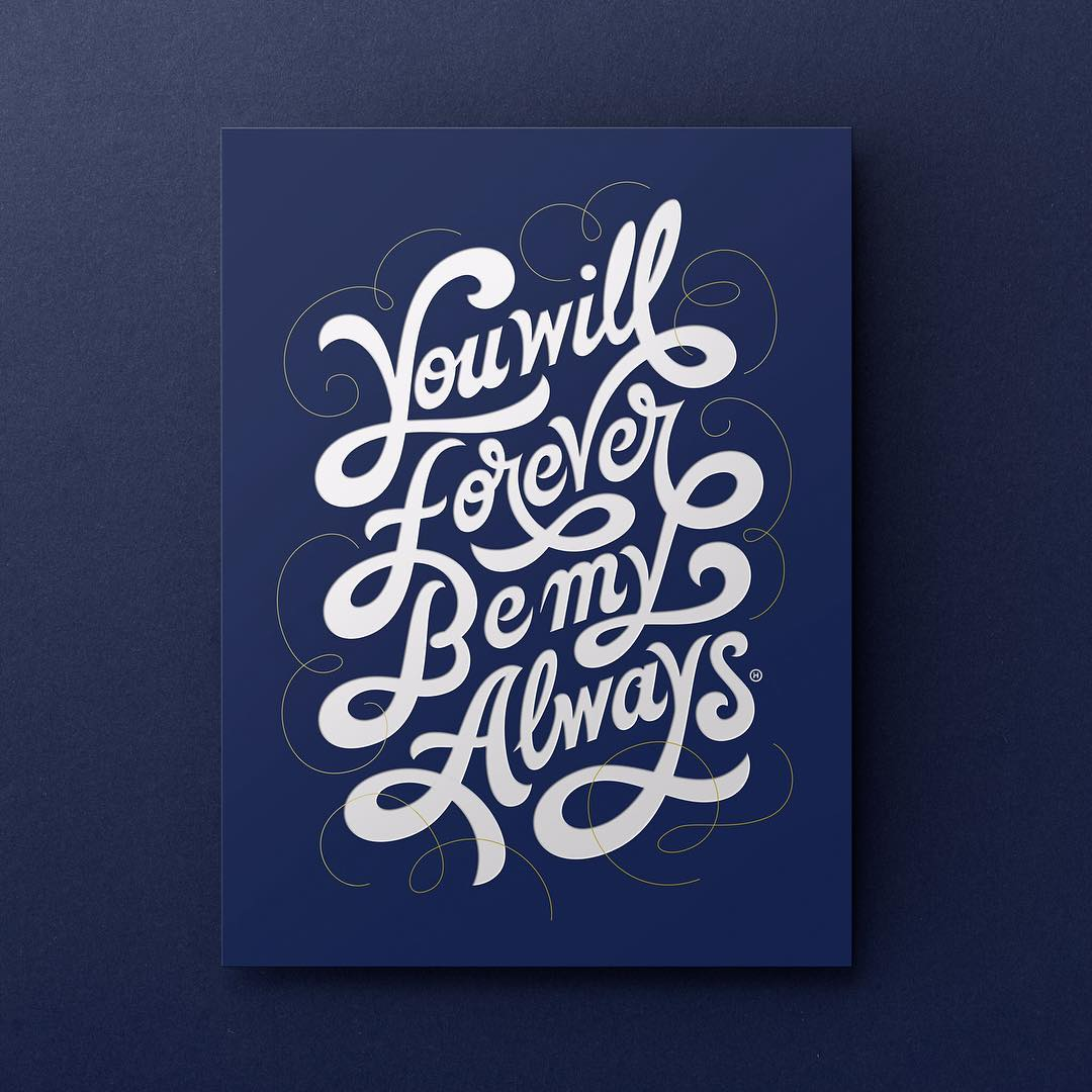35 Remarkable Lettering and Typography Designs for Inspiration  - 16