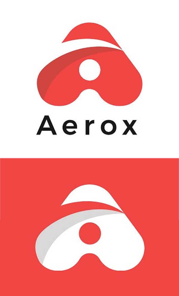 Aerox Letter A Minimal Logo