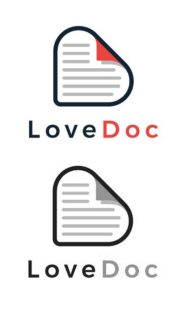 Love Doc Minimal Logo
