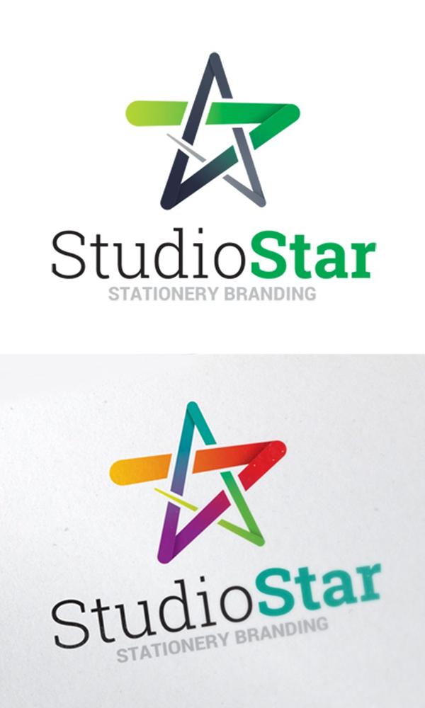 Star Symbol Logo Template