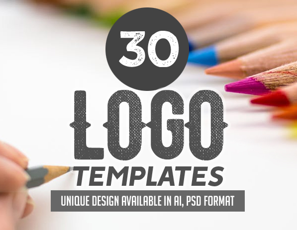 30 Professional Logo Design Templates, Modern and Stylish Examples