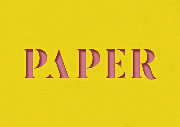 How to Create a 3D Paper Cut-Out Text Effect in Adobe InDesign