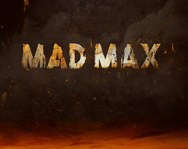 Create Rusted Metal Text Effect Inspired by 'Mad Max' Movie