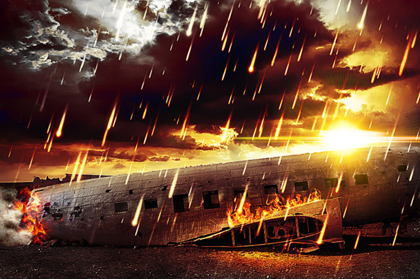 How to Add Fire To Create An Apocalypse Effect In Photoshop