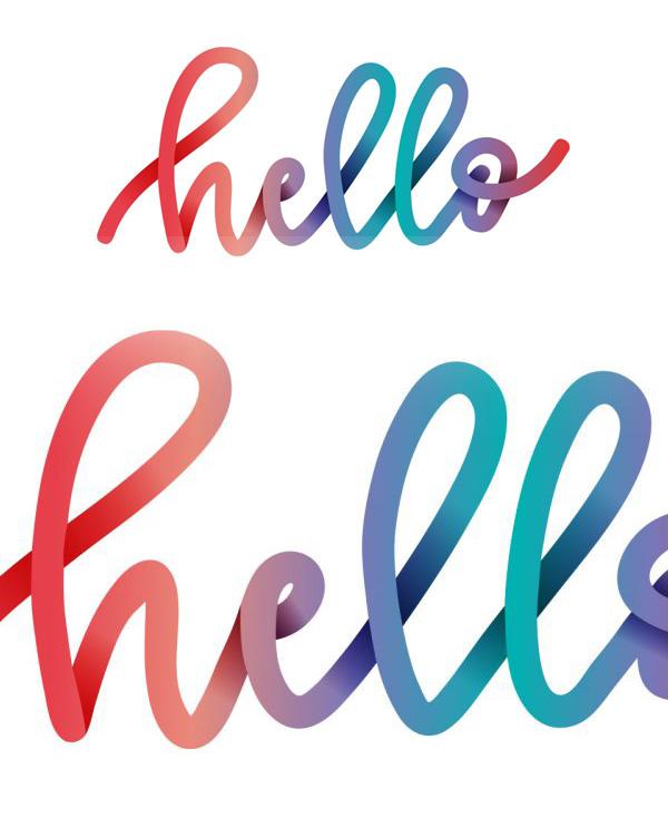 Create Colorful Gradient Lettering in Adobe Illustrator